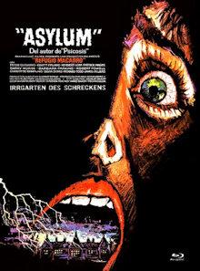 Asylum (Limited Mediabook, Blu-ray+DVD, Cover D) (1972) [FSK 18] [Blu-ray]