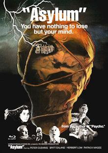 Asylum (Limited Mediabook, Blu-ray+DVD, Cover A) (1972) [FSK 18] [Blu-ray]