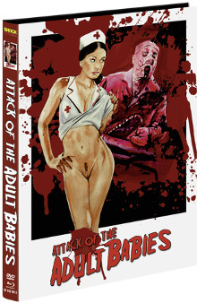 Attack of the Adult Babies (Limited Mediabook, Blu-ray+DVD, Cover D) (2017) [FSK 18] [Blu-ray]