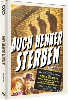 Auch Henker sterben (Limited Mediabook, Blu-ray+DVD, Cover A) (1943) [Blu-ray]