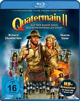 Quatermain 2 - Auf der Suche nach der geheimnisvollen Stadt (1986) [Blu-ray]