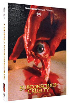 Subconscious Cruelty (Limited Mediabook, Blu-ray+DVD, Cover B) (2000) [FSK 18] [Blu-ray]