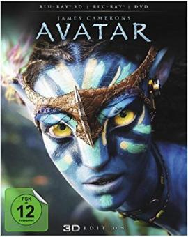Avatar 3D (inkl. 2D-Version + DVD) (2009) [3D Blu-ray]