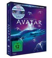 Avatar (Extended Collector's Edition, 3 Discs) (2009) [Blu-ray]