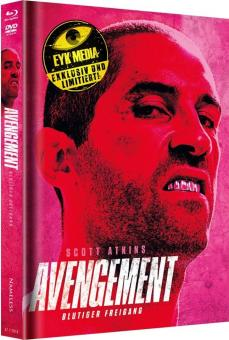 Avengement - Blutiger Freigang (Limited Mediabook, Blu-ray+DVD, Cover E) (2019) [FSK 18] [Blu-ray]