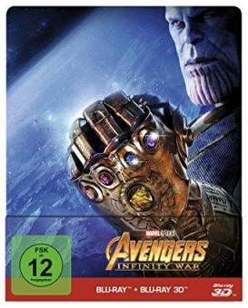 Avengers: Infinity War (Limited Steelbook, Blu-ray+3D Blu-ray) (2018) [3D Blu-ray]