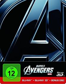Marvel's The Avengers (Steelbook inkl. 2D Blu-ray & Bonus Disc) (2012) [3D Blu-ray]