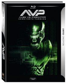 Alien vs. Predator (Limited Cinedition, 2 Discs) (2004) [Blu-ray]