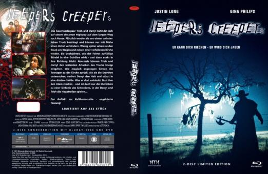 Jeepers Creepers (Limited Mediabook, Blu-ray+DVD, Cover B) (2001) [FSK 18] [Blu-ray]