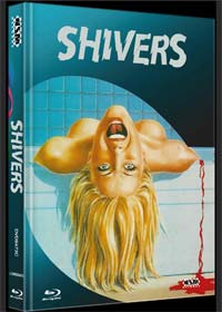 Shivers - Der Parasitenmörder (Limited Mediabook, Blu-ray+DVD, Cover C) (1975)