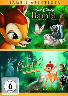 Bambi + Bambi 2 - Der Herr der Wälder (Special Edition) (2 DVDs)