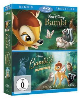 Bambi / Bambi 2 - Der Herr der Wälder (2 Discs) [Blu-ray]