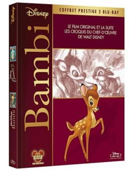 Bambi / Bambi 2 - Der Herr der Wälder (2 Discs, Prestige Edition, Mediabook) [EU Import] [Blu-ray]