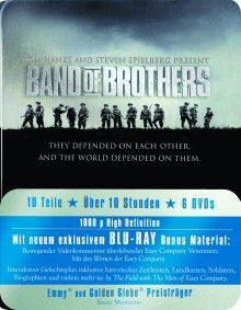 Band of Brothers - Box (6 Discs, Metalbox) [FSK 18] [Blu-ray]