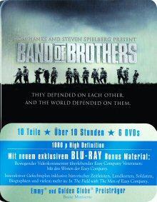 Band of Brothers - Box (6 Discs, Metalbox) [FSK 18] [Blu-ray]