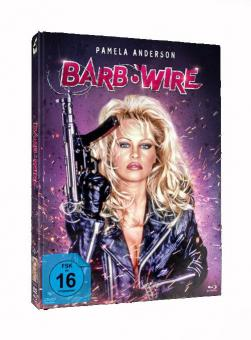 Barb Wire (Limited Unrated Mediabook, Blu-ray+DVD, Cover B) (1996) [Blu-ray]