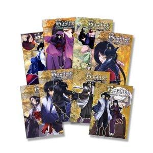 Basilisk Vol. 01 bis 08 - Chronik der Koga-Ninja - 8er DVD Komplett-Set