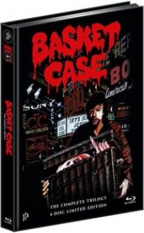 Basket Case Trilogy (6 Disc Limited Mediabook, 3 DVDs+3 Blu-ray's) [FSK 18] [Blu-ray]