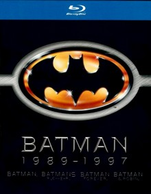 Batman 1989 - 1997 (4 Discs) [Blu-ray]