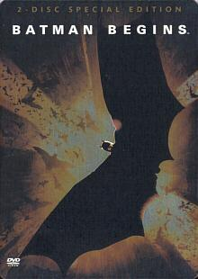 Batman Begins (2 DVDs Special Edition, Steelbook) (2005)
