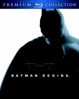 Batman Begins (Premium Collection) (2005) [Blu-ray]