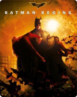 Batman Begins (Limited Steelbook Edition) (2005) [Blu-ray]
