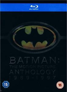 Batman - The Motion Picture Anthology 1989-1997 (4 Discs) [UK Import mit dt. Ton] [Blu-ray]