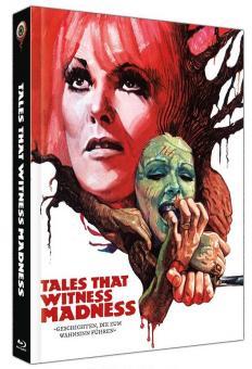 Geschichten die zum Wahnsinn führen (Limited Mediabook, Blu-ray+DVD, Cover C) (1973) [Blu-ray]