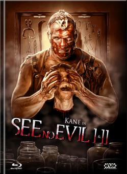 See No Evil 1&2 (Limited Mediabook, Double Feature, 2 Blu-ray's, Cover B) [FSK 18] [Blu-ray]