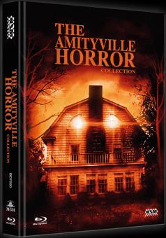 Amityville Horror Collection (Limited Mediabook, 4 Discs) [FSK 18] [Blu-ray]