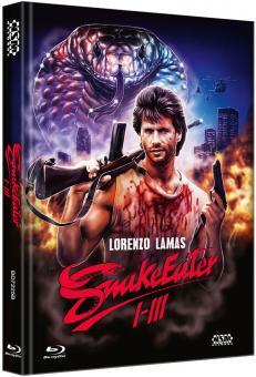 Snake Eater 1-3 (3 Disc Limited Mediabook, Cover B) [FSK 18] [Blu-ray]