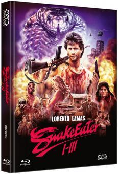 Snake Eater 1-3 (3 Disc Limited Mediabook, Cover C) [FSK 18] [Blu-ray]