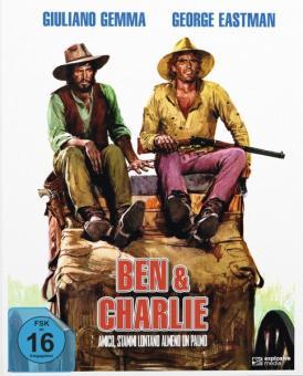 Zwei Himmelhunde im Wilden Westen - Ben & Charlie (Limited Mediabook, 2 Discs, Cover A) (1972) [Blu-ray]