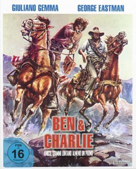 Zwei Himmelhunde im Wilden Westen - Ben & Charlie (Limited Mediabook, 2 Discs, Cover B) (1972) [Blu-ray]