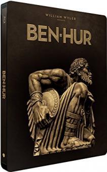 Ben Hur (Limited Steelbook) (1959) [EU Import mit dt. Ton] [Blu-ray]