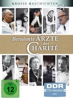 Berühmte Ärzte der Charité (DDR TV-Archiv - Große Geschichten 51) (4 DVDs)