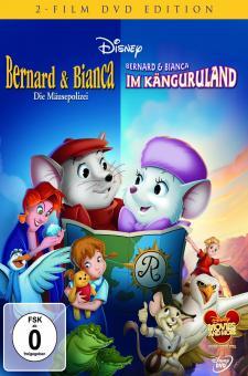 Bernard & Bianca - Die Mäusepolizei / Bernard & Bianca im Känguruland (2 DVDs)