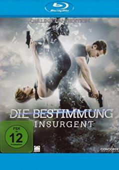 Die Bestimmung - Insurgent (Deluxe Fan Edition) (2015) [Blu-ray]