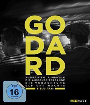 Best of Jean-Luc Godard (5 Discs) [Blu-ray]