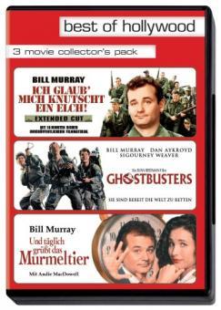 Best of Hollywood - 3 Movie Collector's Pack: Ich glaub', mich knutscht ein Elch / Ghostbusters / Täglich grüßt das Murmeltier  (3 DVDs)
