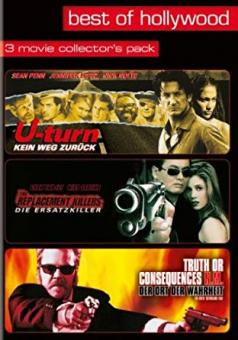 Best of Hollywood - 3 Movie Collector's Pack: U-Turn - Kein Weg zurück / The Replacement Killers/Truth or Consequences (3 DVDs) [FSK 18]