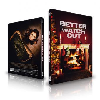 Better Watch Out (Limited Mediabook, Blu-ray+CD, Cover A) (2016) [Blu-ray]
