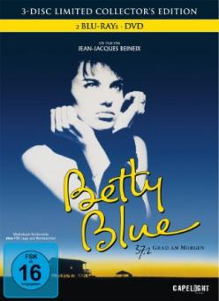 Betty Blue 37,2 Grad am Morgen (3-Disc Limited Collector's Edition, Mediabook) (1986) [Blu-ray]