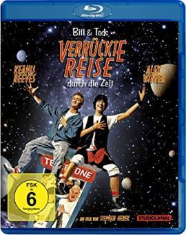 Bill & Ted's verrückte Reise durch die Zeit (1988) [Blu-ray]