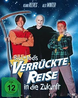 Bill & Ted's verrückte Reise in die Zukunft (Limited Mediabook, Blu-ray+DVD) (1991) [Blu-ray]