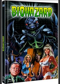 Biohazard (Limited Mediabook, Blu-ray+DVD) (1985) [FSK 18] [Blu-ray]