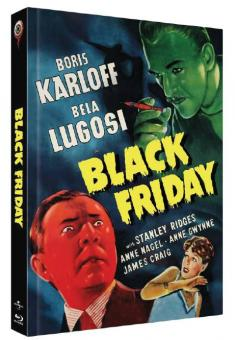 Black Friday (Limited Mediabook, Blu-ray+DVD, Cover A) (1940) [Blu-ray]