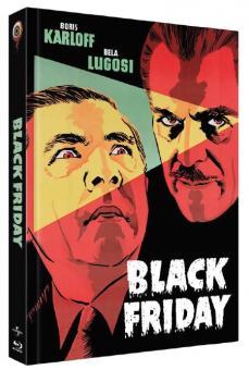 Black Friday (Limited Mediabook, Blu-ray+DVD, Cover B) (1940) [Blu-ray]