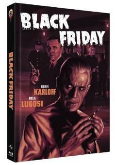 Black Friday (Limited Mediabook, Blu-ray+DVD, Cover C) (1940) [Blu-ray]