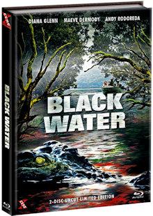 Black Water (Limited Mediabook, Blu-ray+DVD, Cover B) (2007) [Blu-ray]